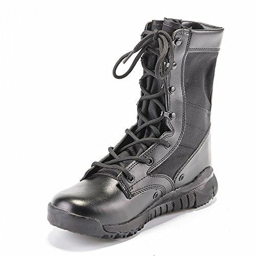 lavoro agli di 28 da della resistenti degli regalo da da militari combattimento giungla scarti 23 combattimento il scarponi Stivali resistenti agli uomo da Nero Natal uomini desertici cm Stivali cm Per f7Tqx