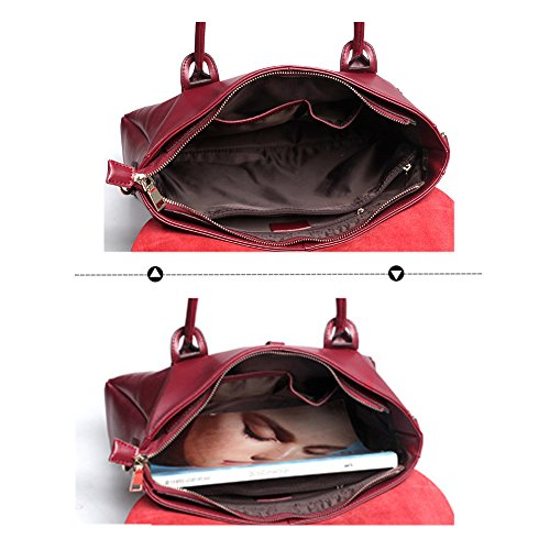 Navy documents Bag style 2018 Care Blue Porte Notebook 108 Work Sauce Vin Navette Nouveau Jvps c Porte documents Femme Rouge portable Carrier occidental Ordinateur Ol qcfzWFTAA7