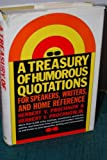 Treasury of Humorous Quotations, Herbert V. Prochnow, 0061113786