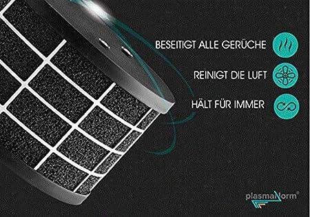 Plasma Campana extractora Plasma Isla Redonda con función 24h comodidadgalvamet Movie 45/A inox BK Plasma/Negro/cristal Acero Inoxidable Diseño/ECO LED/Fabricado en Italia/Alemania: Amazon.es: Bricolaje y herramientas