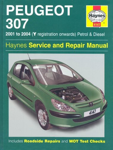 Download Peugeot 307 Petrol and Diesel Service and Repair Manual: 2001-2004 (Haynes Service and Repair Manuals) pdf