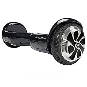 HOVERZON S Series Self Balance Hoverboard Scooter UL 2272; Dual Power 250-Watt Motor; Durable Aegis Armor Battery (Black)