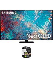 Samsung QN65QN85AA 65 Inch Neo QLED 4K Smart TV (2021) Bundle with Premium 1 Year Extended Protection Plan