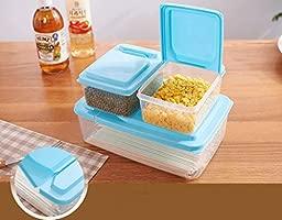 Almacenamiento de alimentos caja de plástico diversos granos ...