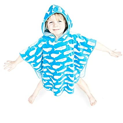 kids hooded beach towels.  kids super soft and thick kids hooded poncho towel for boys girls aged 110 beach towels e