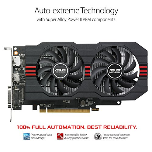 ASUS Radeon RX 560 14CU 4GB EVO OC Edition  GDDR5 DP HDMI DVI AMD Graphics Card (RX560-O4G-EVO) by Asus (Image #1)