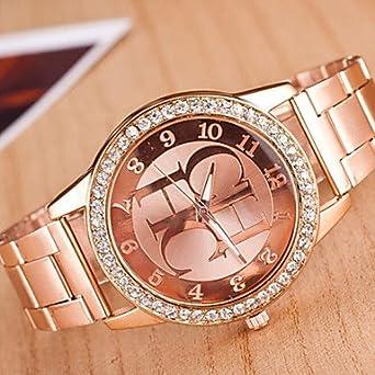 Bheema reloj principal del diamante del reloj traje de la aleación ...