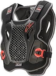 Alpinestars Unisex-Adult Bionic Action Chest Protector-Black/Red (Medium)/XL (Multi, One Size)