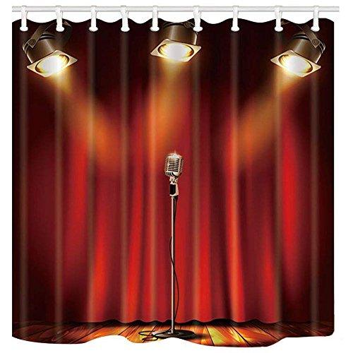 music shower curtain - 5