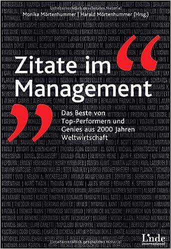 Zitate Im Management Das Beste Von Top Performern Und