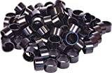 Wheels Manufacturing Bulk Headset Spacers 1-1/8 x 20mm Black Bag of 100