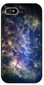 iPhone 4 / 4s Dark Space - black plastic case / Space, Stars, Fantasy