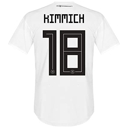 separation shoes 1e654 3c597 Germany Home Kimmich Jersey 2018 / 2019 (Official Printing)
