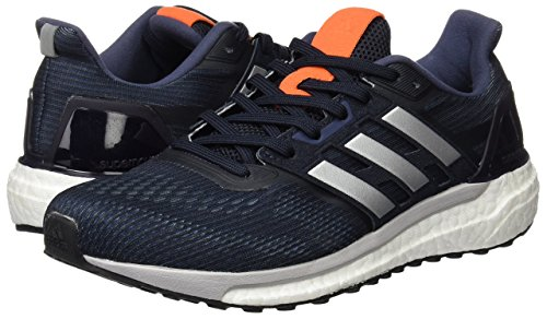 Gris Homme Pour Metallic Collegiate Chaussures Course Supernova De midnight M Grey Navy Silver Adidas qYR0wZW