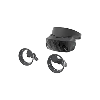 3e259cc58d95 Image Unavailable. Image not available for. Color  ASUS Windows Mixed  Reality Headset with Motion Controllers ...