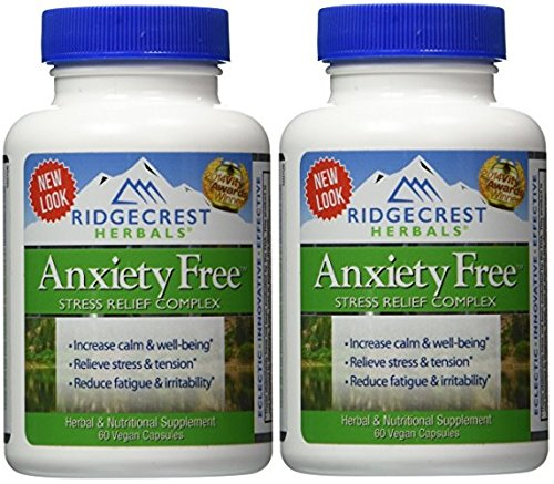 Ridgecrest Anxiety Herbal Nutrition Support product image
