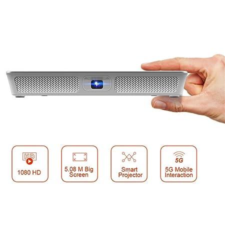Linbing123 Proyector de Video de Bolsillo LED, HDMI 4K ...