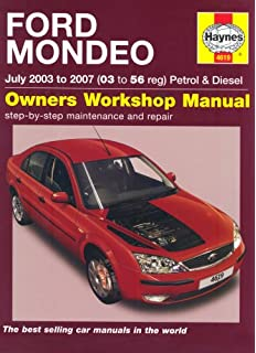 Ford Mondeo Petrol and Diesel Service and Repair Manual: 2003 to 2007 (Haynes Service