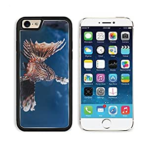 Lionfish Striped Lionfish Zebra Fish Broadbarred Firefish Apple iPhone 6 TPU Snap Cover Premium Aluminium Design Back Plate Case Customized Made to Order Support Ready Liil iPhone_6 Professional Case Touch Accessories Graphic Covers Designed Model Sleeve