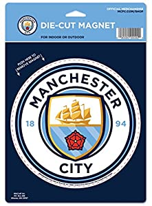WinCraft Manchester City Football Club Large Die Cut Magnet