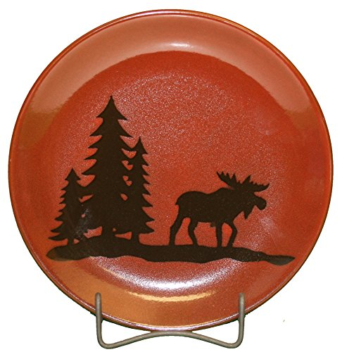 Moose Stoneware - DEI 25655 Moose Salad Plate, 8.5