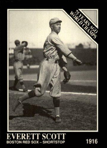 (1991 Conlon TSN Baseball Card #149 Everett Scott)