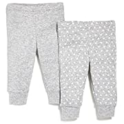Skip Hop Baby Petite Triangles Pants, Grey, 9 Months
