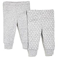 SkipHop Baby Starry Chevron Pants Set, Grey, 6 Months