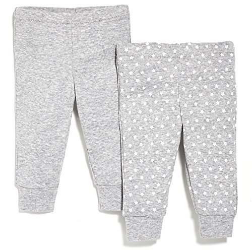 SkipHop Baby Starry Chevron Pants Set, Grey, 6 Months
