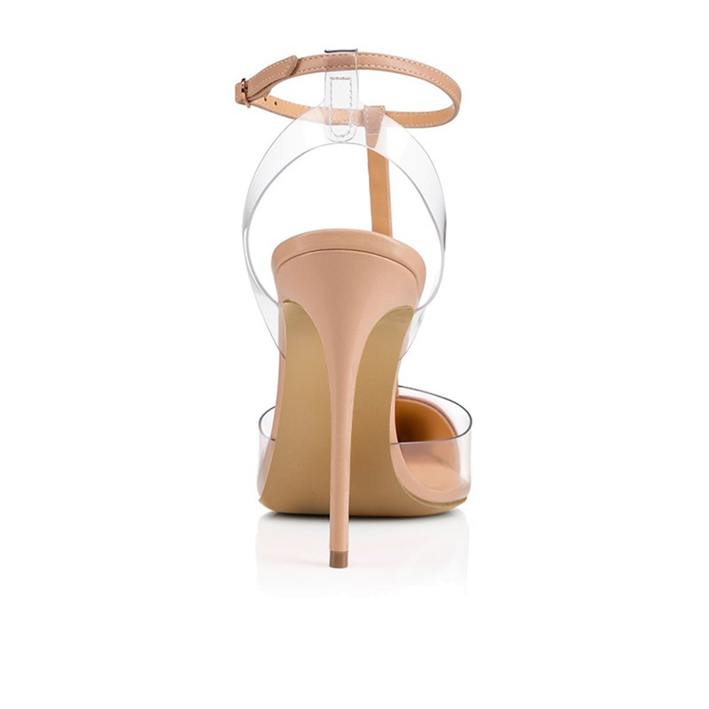 Apricot Black Color : A, Size : 44 XUEXUE Womens Shoes PU Spring//Summer Buckle Pointed Shoes Office /& Career Party /& Evening Stiletto Heel Formal Business Work Red Gold