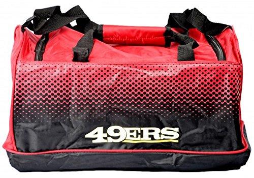 San Francisco 49ers Reisetasche Sporttasche - NFL Football Fanartikel Fanshop