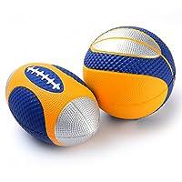 Chastep PU-Schaumstoffbälle softball miniball mini Rugby volley foam (blau)