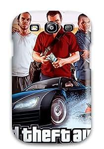 [xJTjTAb1786hcZUc]premium Phone Case For Galaxy S3/ Grand Theft Auto V Tpu Case Cover