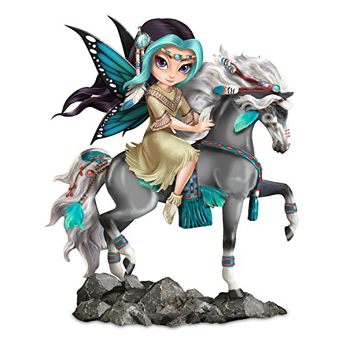 The Hamilton Collection Jasmine Becket-Griffith and Laurie Prindle Fairy Maiden Figurine With Horse ()