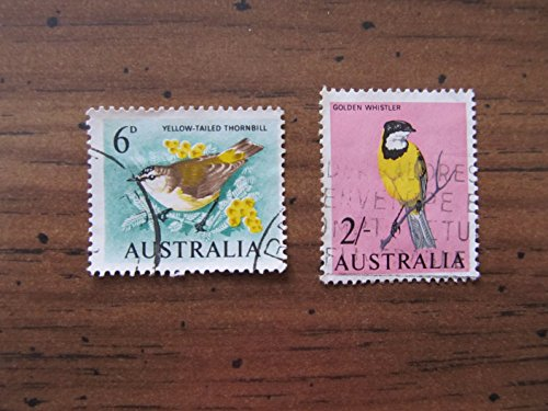 Australian Bird Stamps