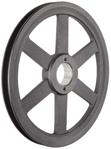 Martin-FHP-Sheave-MST-Bushed-3L4L-Belt-Section-1-Groove-Class-30-Gray-Cast-Iron