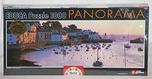 Panorama Series - Juego 1000 Amanecer En Belle-Ile-En-Mer, Bretaña, Francia (Educa Borrás - 14458)