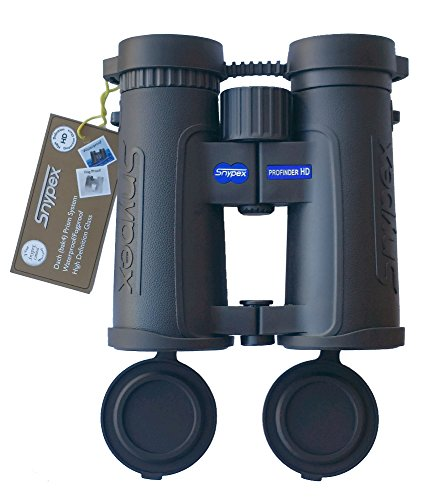Snypex Profinder HD 8 x 32 Sport Optic Binocular For Hiking, Biking , Camping, Travel, Safari by Snypex