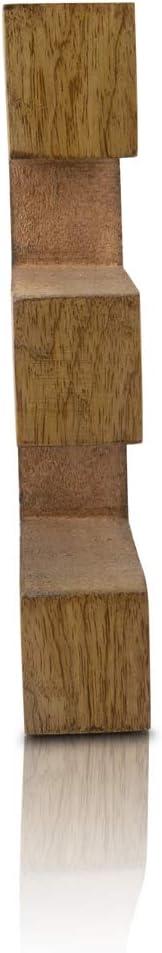 iniciales para el dormitorio Letras decorativas de madera maciza de 20,32 cm fiestas estante independiente o vajilla boda cumplea/ños palabras de madera con acabado natural letras del alfabeto