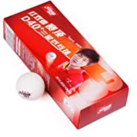 DHS D40+ ABS 3 Star Seam ITTF (Pack of 10 Table Tennis Balls)