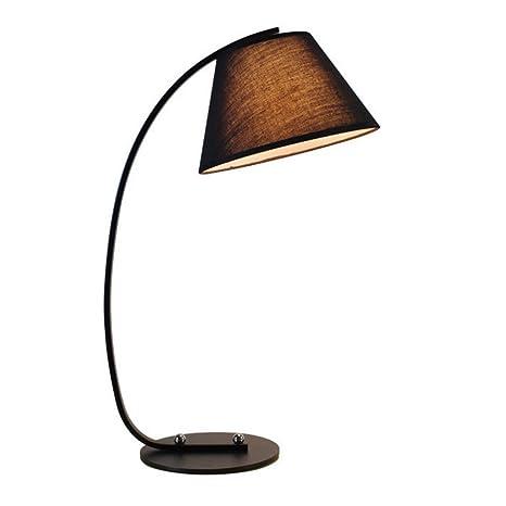Lámparas de escritorio Nordic Fabric Shade lámpara de mesa ...