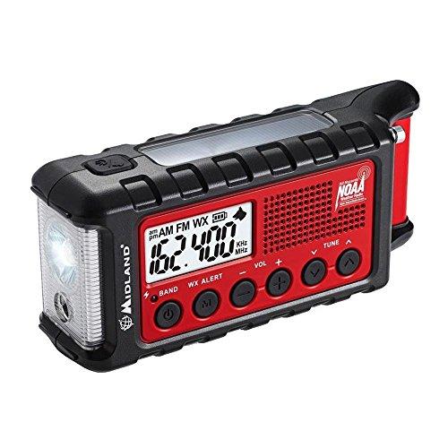 Midland ER300 Emergency Crank Weather Alert Radio
