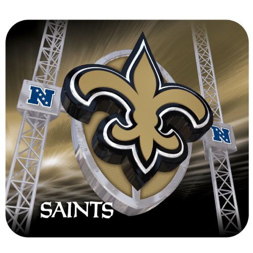 new-orleans-saints-hunter-manufacturing-mousepad