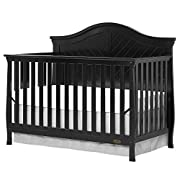 Dream On Me Kaylin 5 in 1 Convertible Crib, Black