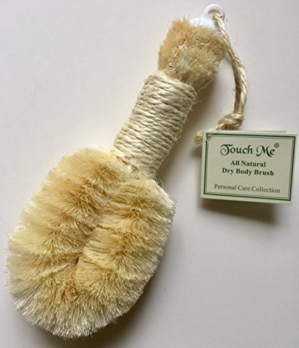 Touch Me All Natural Spa Dry Skin Brush- 9' Length