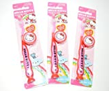 Hello Kitty Travel Kit Suction Cub Toothbrush