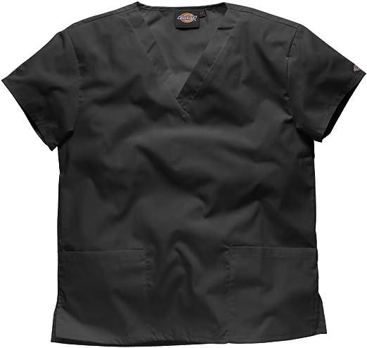 Dickies Mujer Camisa Medica Ultra cómodo. -Profesiones : Dentista/Enfermera/Veterinario/Medico/Sanitaria, tamaños para Elegir