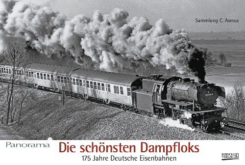 Die schönsten Dampfloks 2011 - Lokomotiven schwarz-weiß Panorama