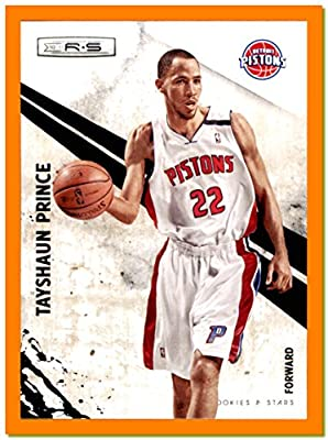 2010-11 Rookies and Stars #26 Tayshaun Prince DETROIT PISTONS KENTUCKY WILDCATS