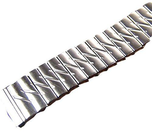 Vintage Mens Topps SS Metal Expansion Watch Band NOS 16 mm (Nos Vintage Steel)